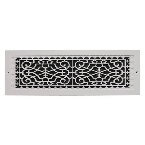smi ventilation products wall mount 6 in x 22 - Decorative Wall Return Air Grille