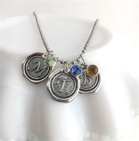mothers birthstone necklace jewelry with birthstone