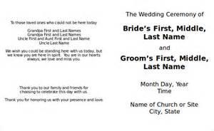 free printable wedding program templates word wedding program template 41 free word pdf psd