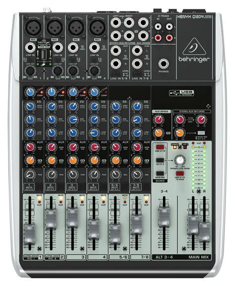 Mixer Behringer 6 Channel behringer q1204usb 6 channel mixer