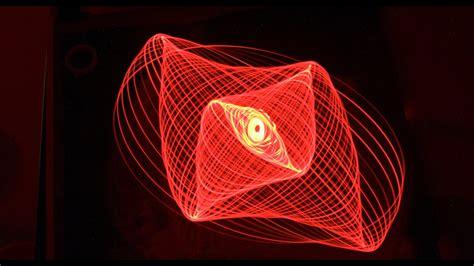 lissajous pattern youtube sand light pendulums lissajous patterns part two