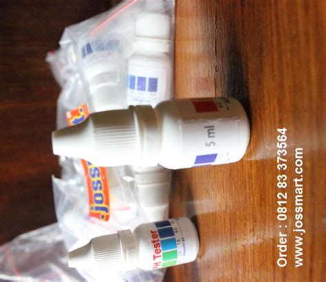 Jual Alat Tes Ovulasi harga jual 6pcs ph tester cair ph asli ph alkaline asli ph
