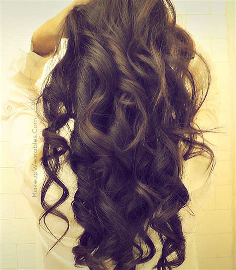 wand for long thick hard to curl hair 1000 ideas about curling iron hairstyles on pinterest