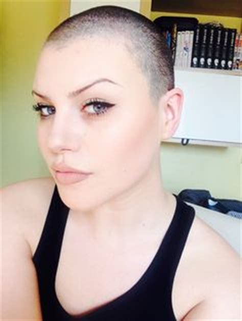 womens buzzed and bold haircuts bald women styles cool bald hairstyle for women jpg