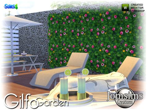 Hq 5805 Tricolor Sweater Blue gilfo garden set by jomsims at tsr 187 sims 4 updates