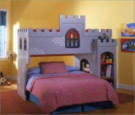 Pics photos cool bunk beds for boys castle theme cool bunk beds for
