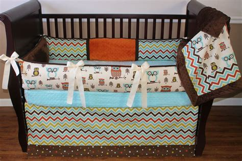 Crib Bedding Owls Theme Unique Owl Crib Bedding For House Photos