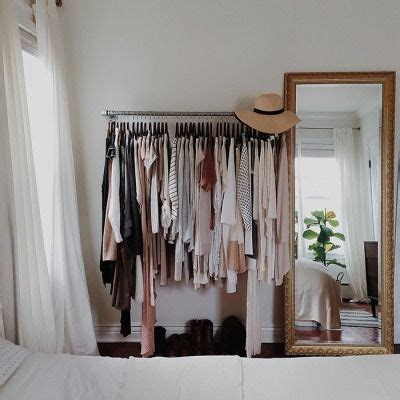 Bedroom Closet Racks 1000 Ideas About Clothes Rack Bedroom On