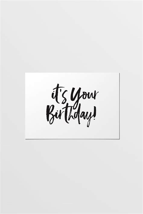 printable happy birthday fonts modern festive happy birthday card printable birthday