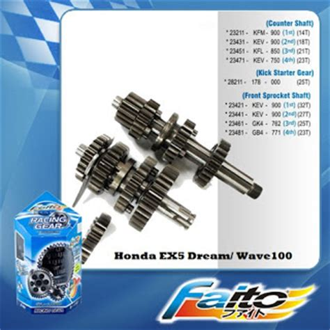 Spare Part Honda Wave 100 syark performance motor parts accessories shop