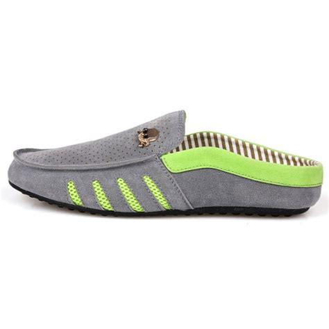 Diskon Sepatu Slip On Dl03 Putih jual sepatu slip on pria model tengkorak