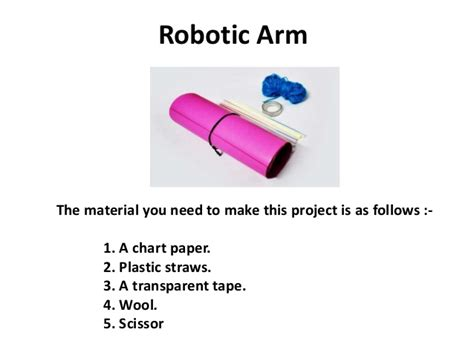 What Do You Need To Make A Paper Mache Volcano - how to make a robotic arm