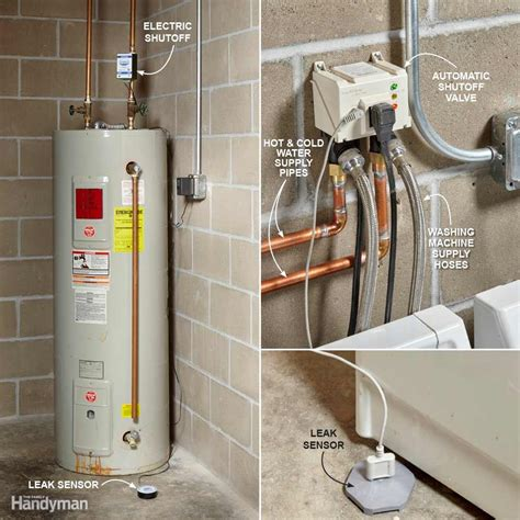 home tech automated water leak detection family handyman