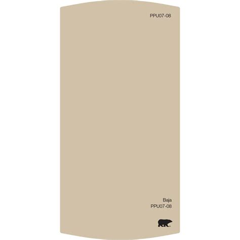 behr premium plus ultra 3 25 in x 6 5 in ppu7 08 baja color chip ul200cc the home depot