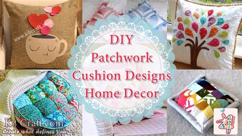 Patchwork Cushion Designs - 10 patchwork cushion designs to decorate your home k4 craft