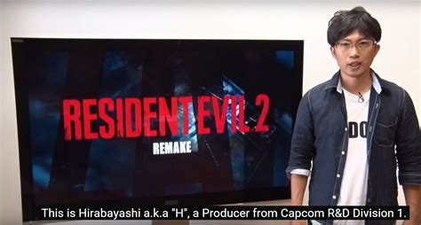 Or Remake Resident Evil 2 Remake A Special Message From Producer Cramgaming