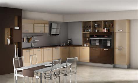 couleur pour armoire de cuisine la cuisine marron inspiration cuisine