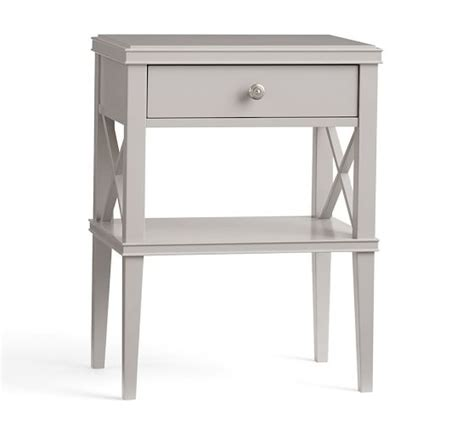 skinny bedside table clara wide dresser 2 narrow bedside table set pottery barn