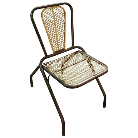 Metal Folding Bistro Chairs Set Of 20 Industrial Bistro Metal Folding Chairs Circa 1930 1950 For Sale At 1stdibs