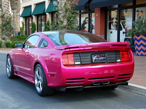 pink saleen mustang molly pop pink 2007 saleen s281 e ford mustang coupe