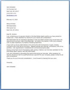 real estate cover letter exles resume downloads