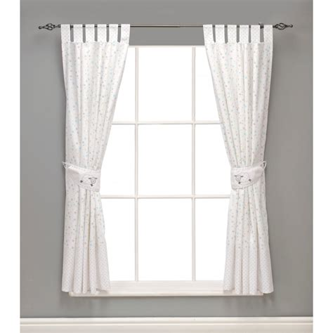 millie boris lined tie top curtains 132 x lined nursery curtains www redglobalmx org