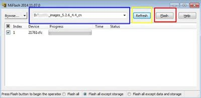 cara mudah flashing xiaomi mi4i inwepo cara flashing xiaomi mi4i bootloop mz flasher