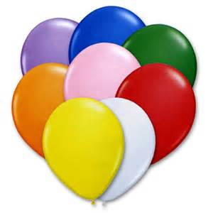 balloon colors bright assorted colors 12 inch balloons
