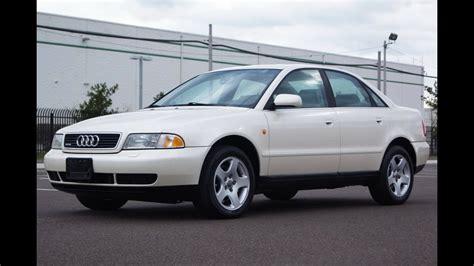 best car repair manuals 1998 audi a4 navigation system 1998 audi a4 quattro 2 8l v6 5 speed manual youtube
