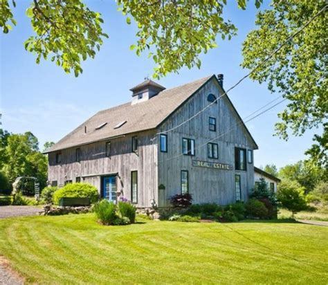 a barn from the 1800s becomes a house in isleboro maine