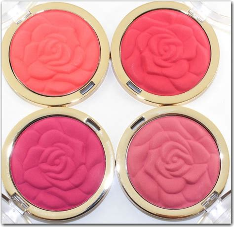 7 Gorgeous Blushes by Milani Cosmetics Coming Up Roses Blushes 2014