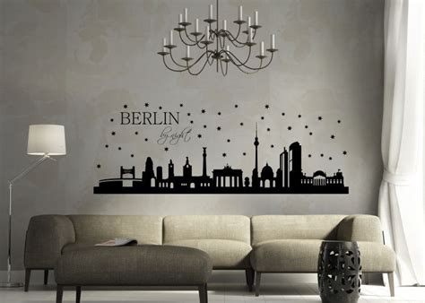 berlin wandtattoo wandtattoo skyline berlin by weltreise
