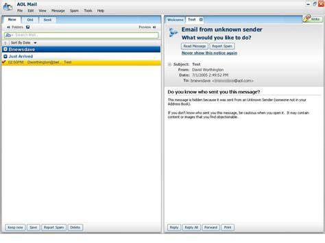 aol mail client fileforum