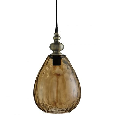 Antique Glass Pendant Light Searchlight 2019am Indiana Antique Brass Pendant Light With Dimpled Glass Shade