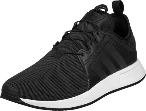 adidas x plr shoes black white