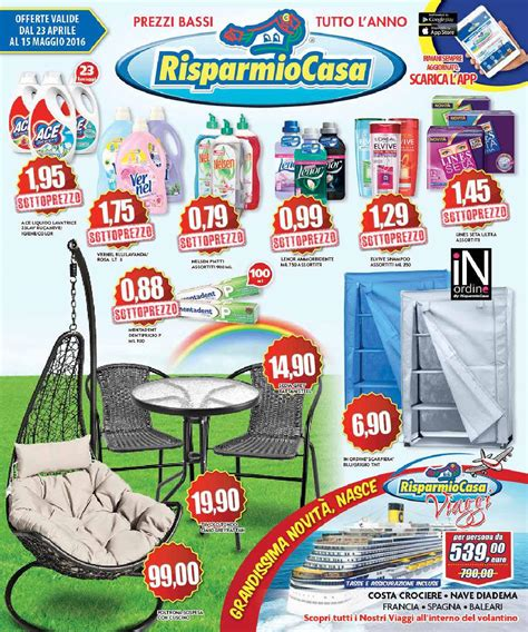 risparmio casa roma volantino volantino risparmio casa aprile by risparmio casa issuu
