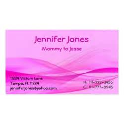 Calling Card Templates abstract pink calling card sided standard business