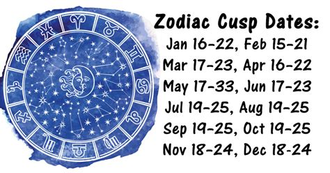were you born on the cusp of a zodiac sign this is what