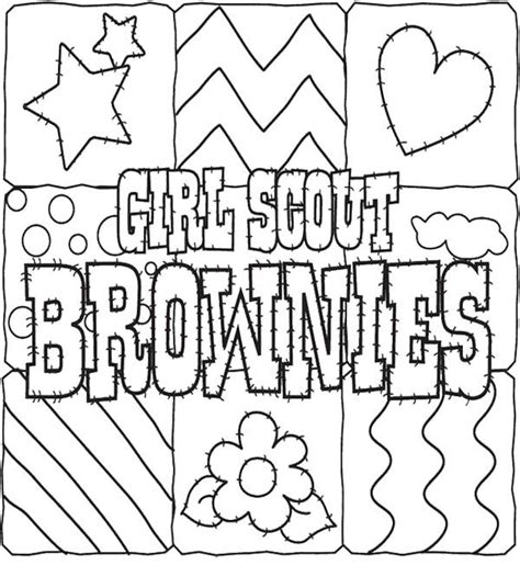 printable coloring pages scout cookies scout cookies coloring pages for gs coloring
