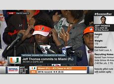 4-star WR Jeff Thomas commits to Miami over Tennessee ... 2017 Green Bay Packers