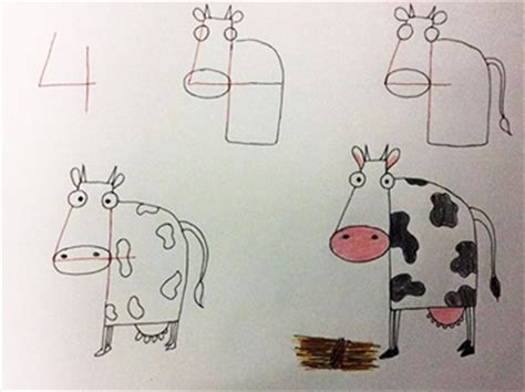 easy tricks to teach your teach your how to draw and animals just by using numbers wow amazing