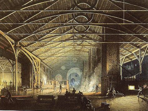Industrial Arts by Artistic Impressions Of Nineteenth Century Industrial South Wales
