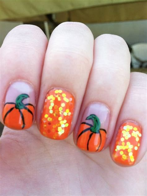 nails pumpkin 25 pumpkin nail ideas 2016 girlshue