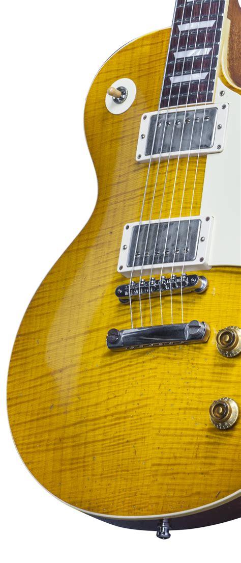 Gitar Gibson Les Paul Hitam 1 rick nielsen s 1959 les paul replicated