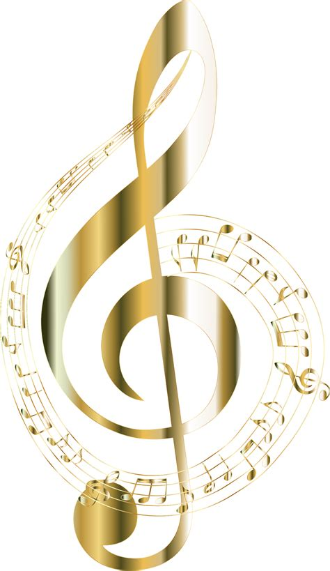 wallpaper gold music clipart gold musical notes typography 2 no background