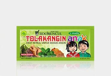 Tolak Angin Anak Cair Sachet Madu 10 Ml Obat Herbal tolak angin anak komposisi produk