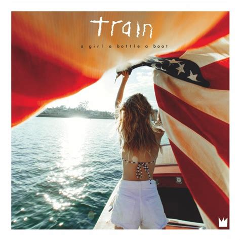 song boat stuck in a bottle train s new cd is stuck in the same soft rock track