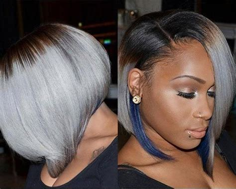Grey Hairstyles For Black by 20 Best Of Hairstyles For Black With Gray Hair