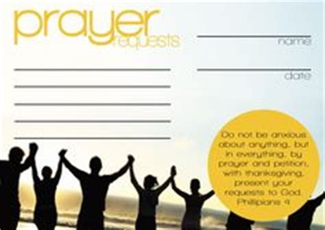 prayer card template maker free printable prayer request church bulletin templates