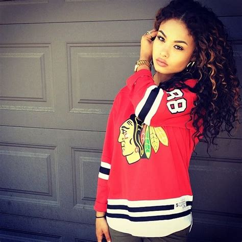rashidas hip hop curly hair redskins jersey curly hair swag urban fashion dope